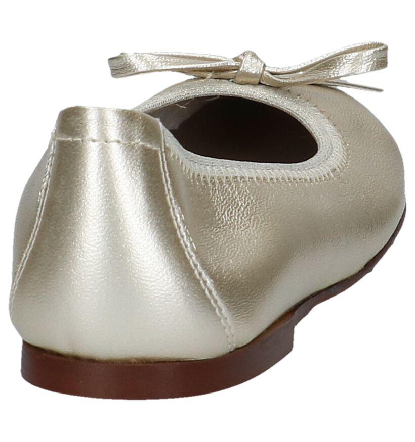 Eli Ballerines en Or en cuir (245981)