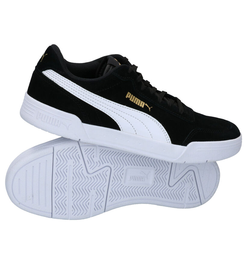 Puma Caracal Baskets en Noir en simili cuir (276759)