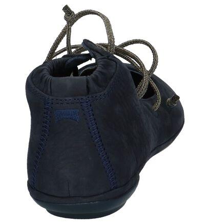 Zwarte Instappers Camper, Blauw, pdp