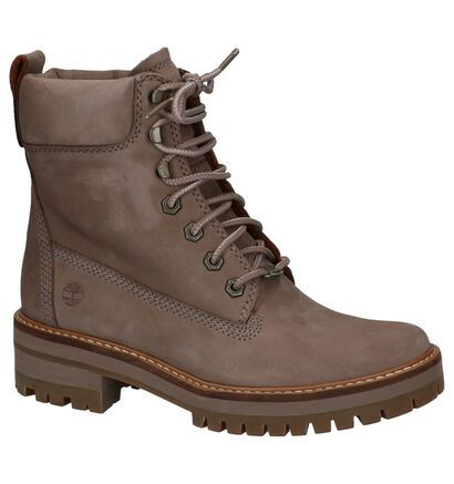 Taupe Veterboots Timberland Courmayeur Valley in nubuck (222504)