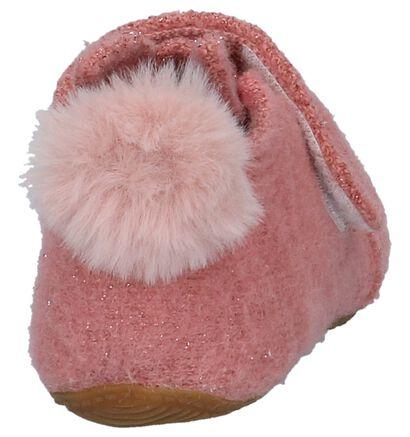 Living Kitzbühel Pantoufles fermées en Rose en laine (235474)