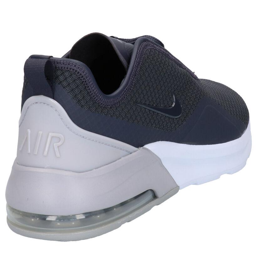 Nike Air Max Baskets basses en Noir en textile (249760)