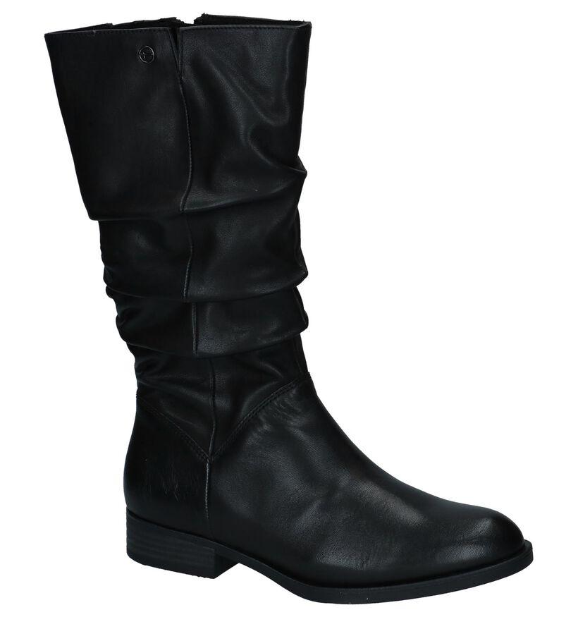 Tamaris Bottes basses en Noir en cuir (226807)
