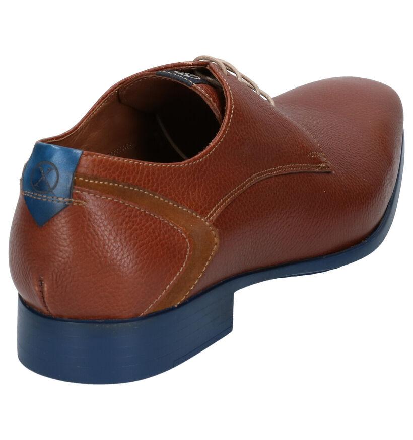 Ambiorix Edwin Chaussures habillées en Cognac en cuir (274883)