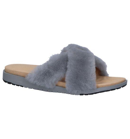 EMU Nu-pieds plates en Gris clair