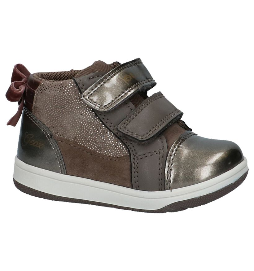 Geox Chaussures pour bébé  en Bronze en cuir verni (223124)