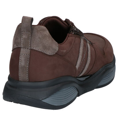 Xsensible Stretchwalker Chaussures basses en Marron en nubuck (259682)