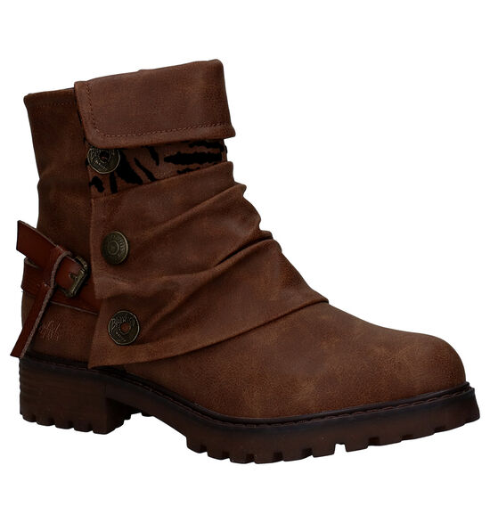 Blowfish Malibu Cognac Vegan Boots