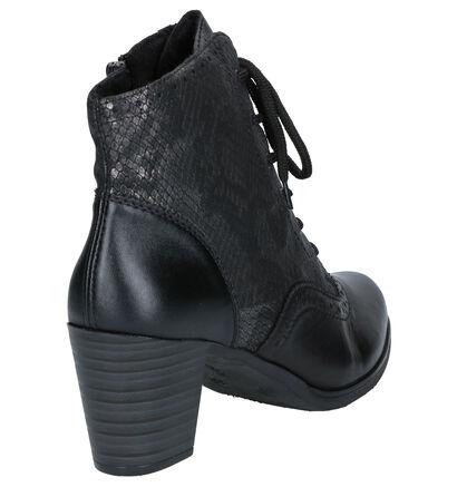 Rieker Bottillons en Noir en cuir (260534)