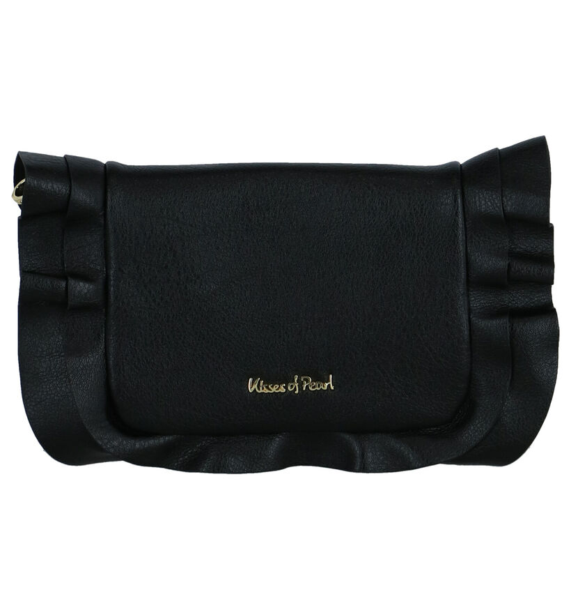 Kisses of Pearl Pochette en Noir en simili cuir (261955)