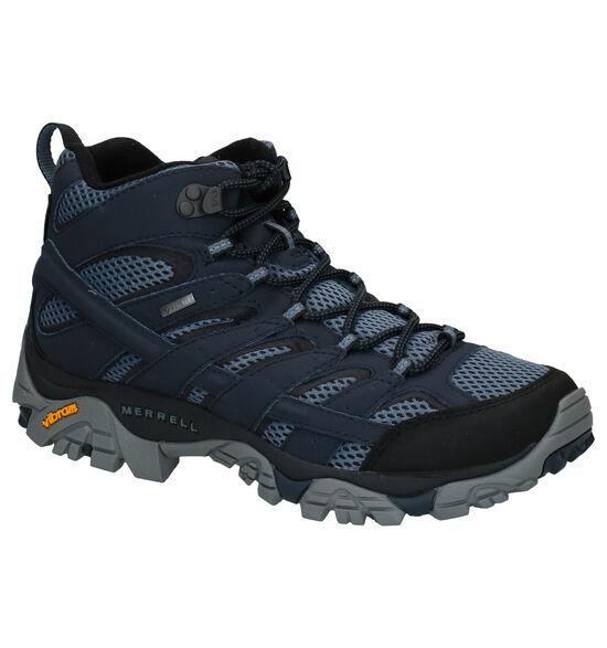 Merrell Moab 2 MID Chaussures de randonnée en Bleu
