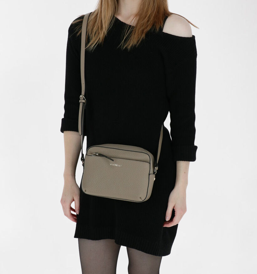 Fiorelli Nicole Sac porté croisé en Beige en simili cuir (279554)