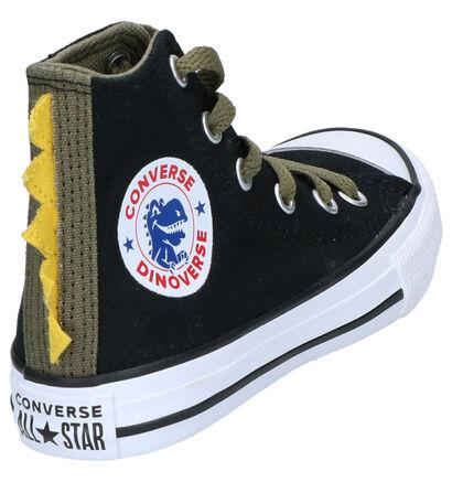 Converse Chuck Taylor AS Zwarte Sneakers in stof (252744)
