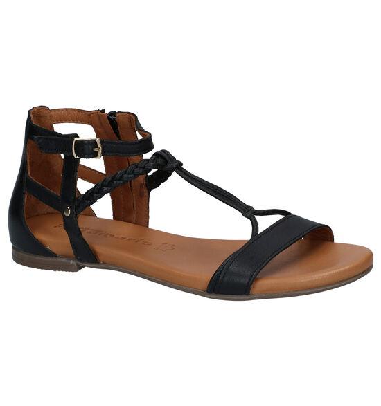 Tamaris Zwarte Sandalen