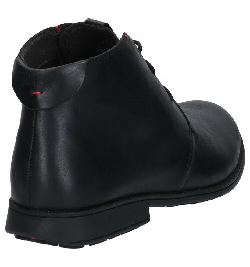 Camper Zwarte Geklede Schoenen in leer (256261)