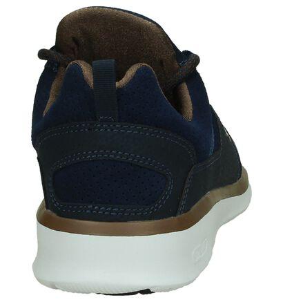 Blauwe Lage Sportieve Sneakers DC Shoes Heathrow, Blauw, pdp