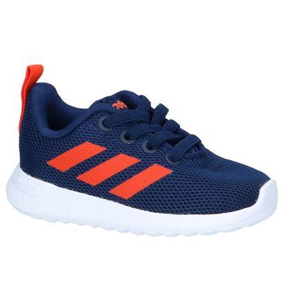 Donkerblauwe Lage Sneakers adidas Lite Racer in stof (237133)