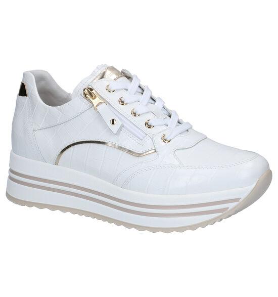 NeroGiardini Chaussures à lacets en Blanc