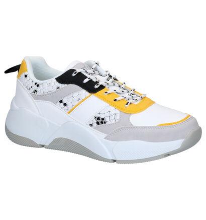Dazzle Witte Sneakers in kunstleer (276489)