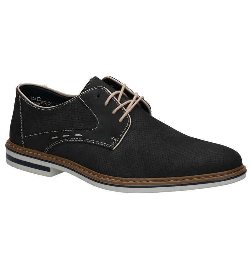 Rieker Chaussures habillées en Bleu foncé en caoutchouc (266694)