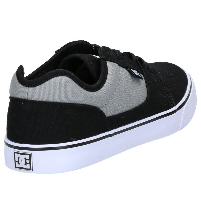 DC Shoes Tonik TX Baskets en Noir en textile (267987)