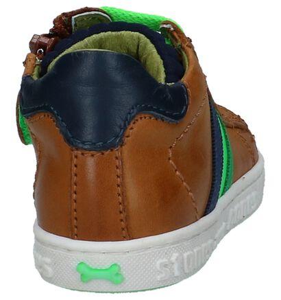 STONES and BONES Chaussures hautes en Blanc en cuir (240704)