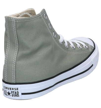 Converse Chuck Taylor AS Seas Gele Sneakers in stof (252771)
