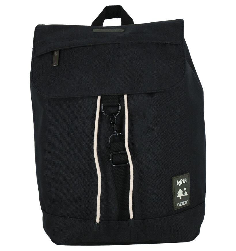 Lefrik Scout Mini Sac à dos en Noir en textile (293589)