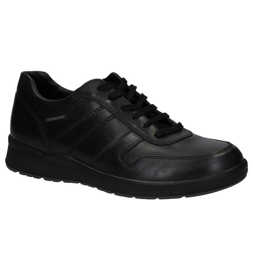 Mephisto Vito Randy Chaussures à lacets en Noir en cuir (298355)