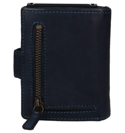 Bear Design Zwarte Portefeuille in leer (263913)