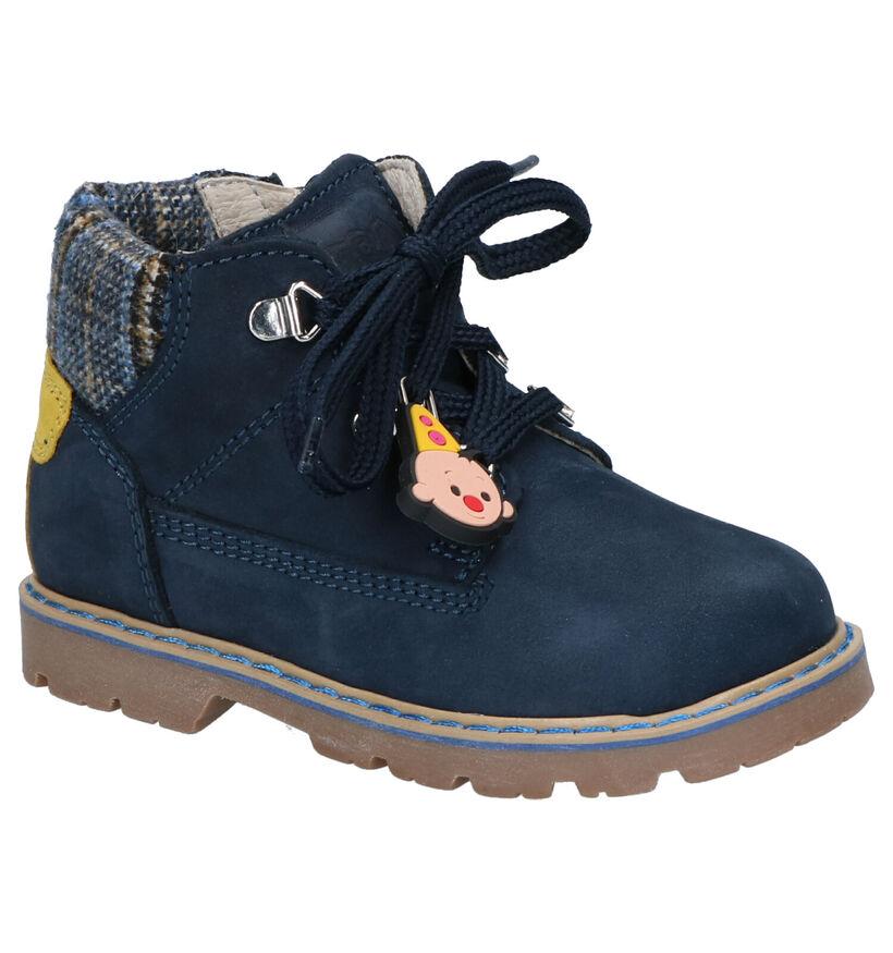 Bumba Chaussures pour bébé  en Bleu foncé en nubuck (261013)