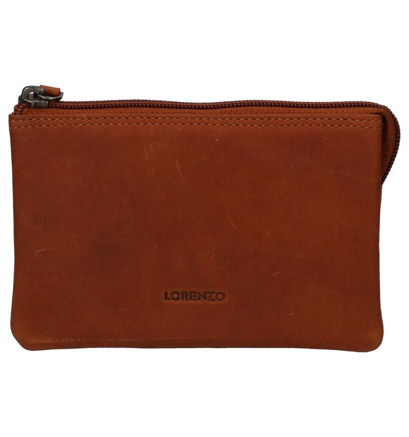 Euro-Leather Cognac Ritsportemonnee in leer (275664)