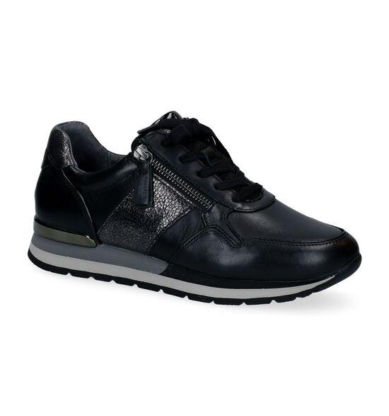 Gabor OptiFit Chaussures à lacets en Noir