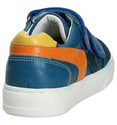 Blauwe Velcroschoen Little David Zivo, Blauw, pdp