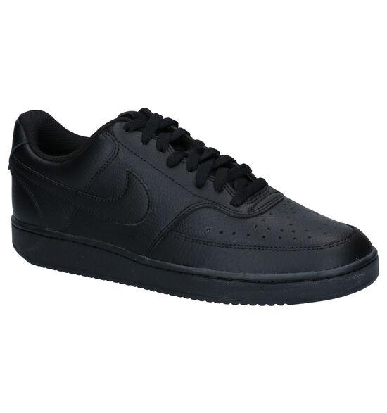 Nike Court Vision Low Baskets en Noir