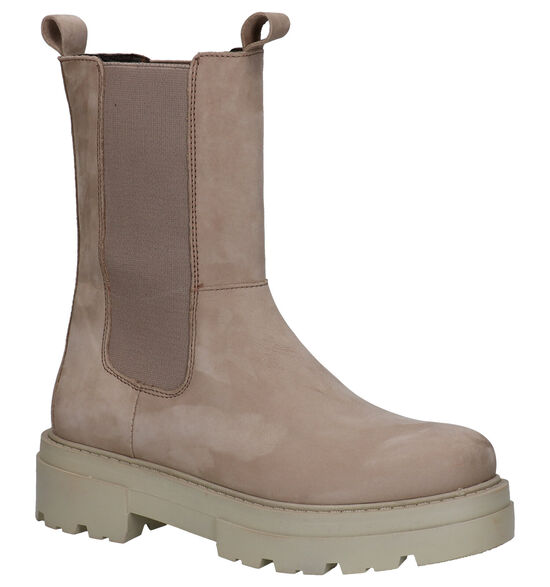 Poelman Taupe Chelsea Boots