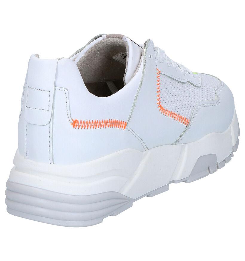 Tamaris TOUCH it Sneakers en Blanc en cuir (269810)