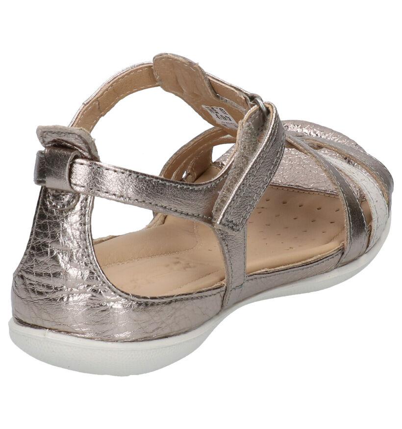 Ecco Flash Zwarte Sandalen in leer (269694)
