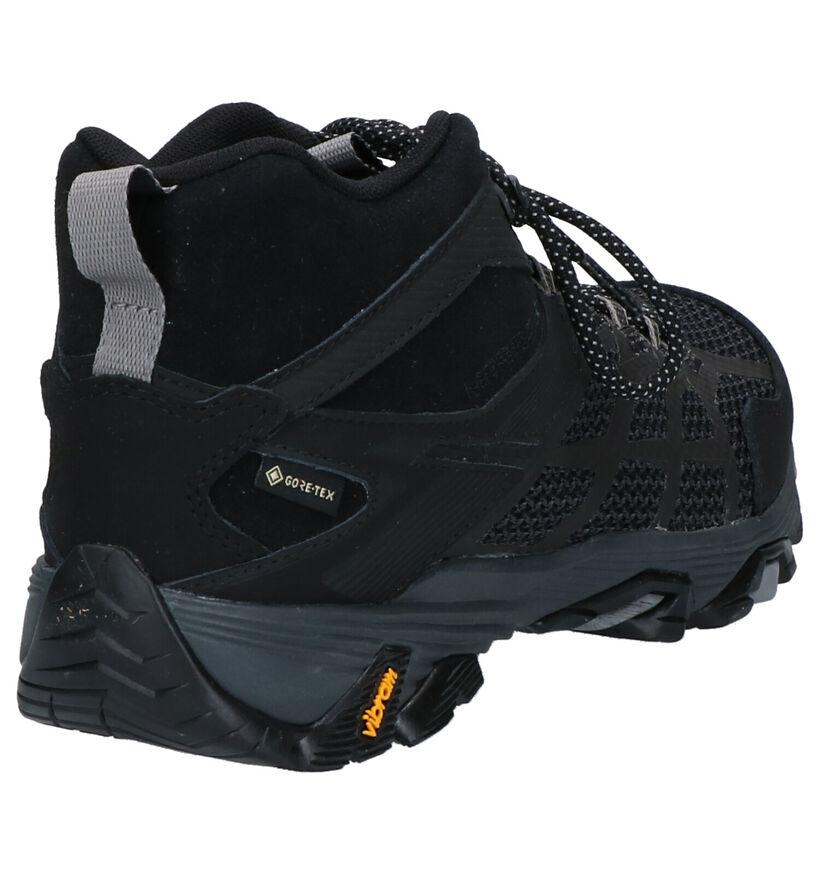 Merell Maob FST 2 Mid GTX Zwarte Boots in stof (259400)