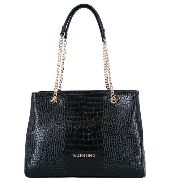 Valentino Handbags Zwarte Schoudertas