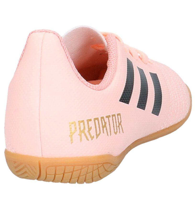 Predator Chaussures de foot en Rose saumon en simili cuir (230822)