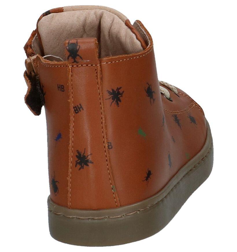 Hampton Bays Chaussures hautes en Cognac en cuir (232369)