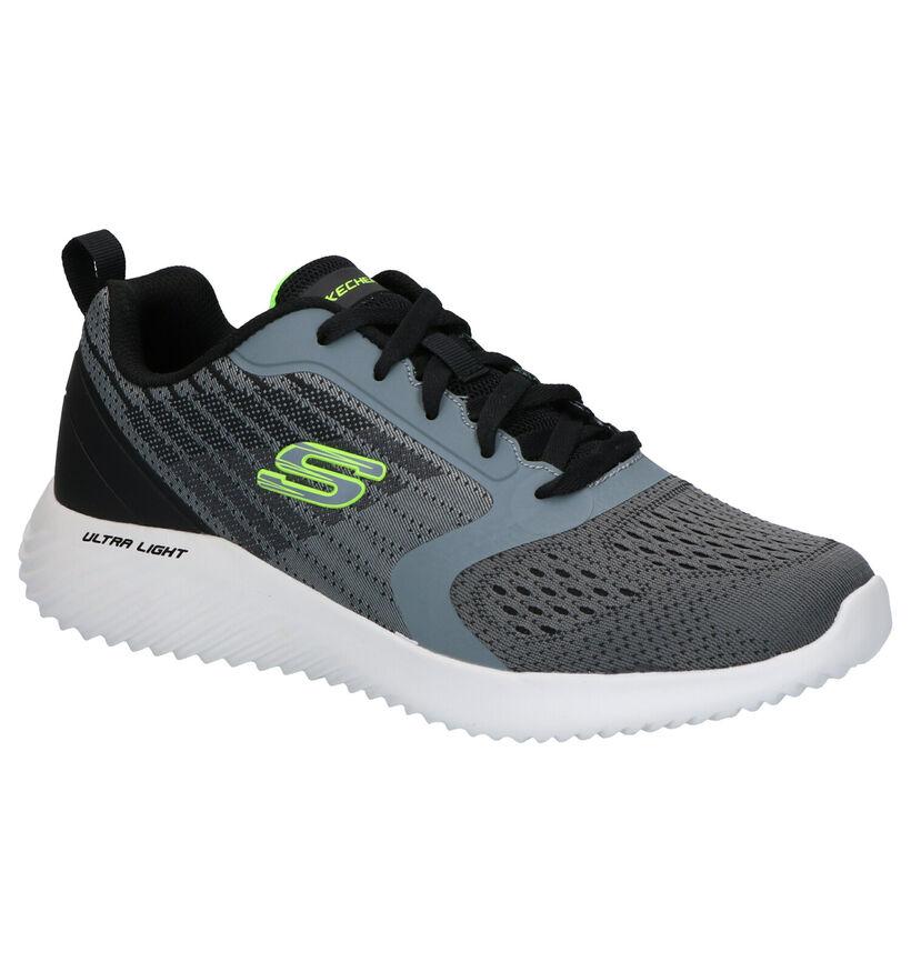Skechers Bounder Verkona Witte Sneakers (266940)
