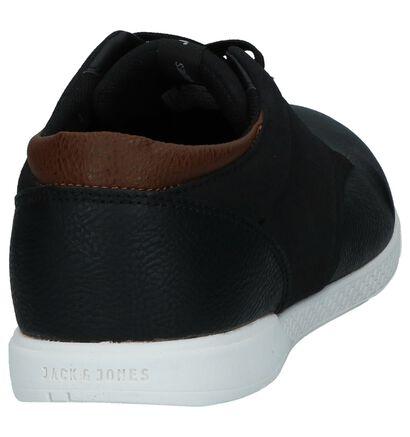 Zwarte Casual Veterschoenen Jack & Jones Jamie, Zwart, pdp