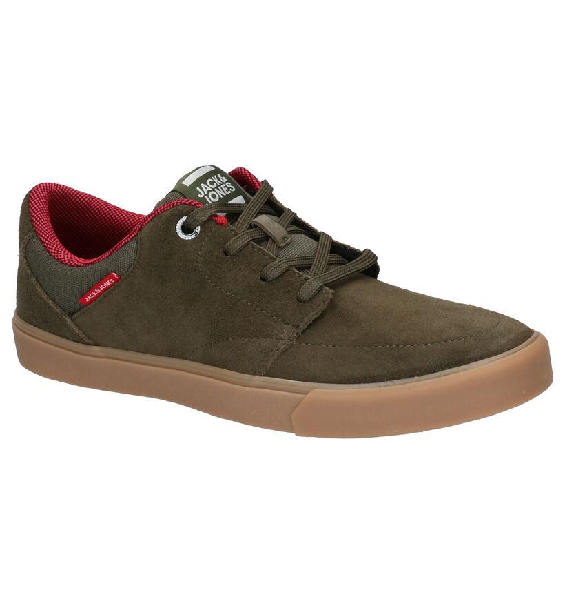 Jack & Jones Barton Bruine Skateschoenen in daim (256273)