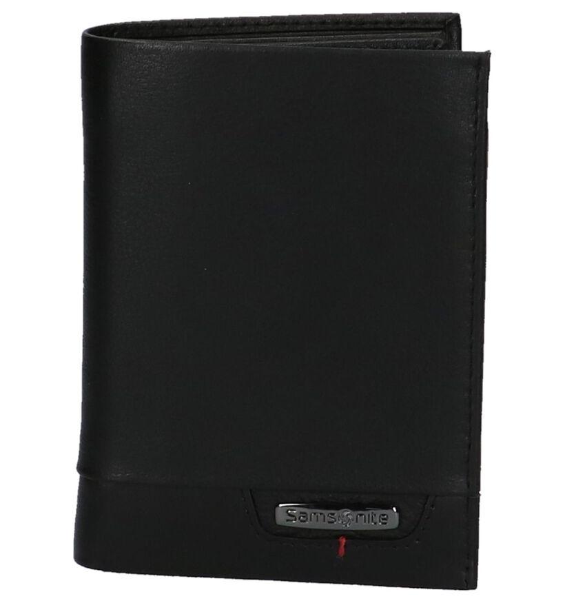 Zwarte Samsonite Pro DLX 4S Portefeuille in leer (220716)