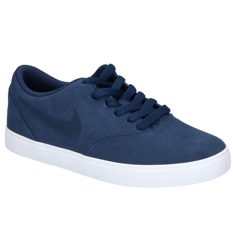 Nike SB Check Zwarte Sneakers in daim (254083)