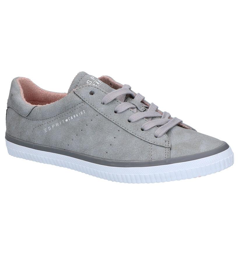 Esprit Riata Chaussures à lacets en Gris en simili cuir (270263)