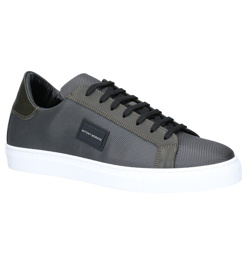 Antony Morato Chaussures basses en Vert foncé en cuir (261546)