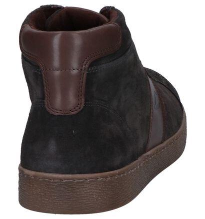 Camel Active Tonic Chaussures Hautes en Gris en daim (259371)